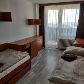 Newly renovated rooms in Palach and Thaler dormitory.